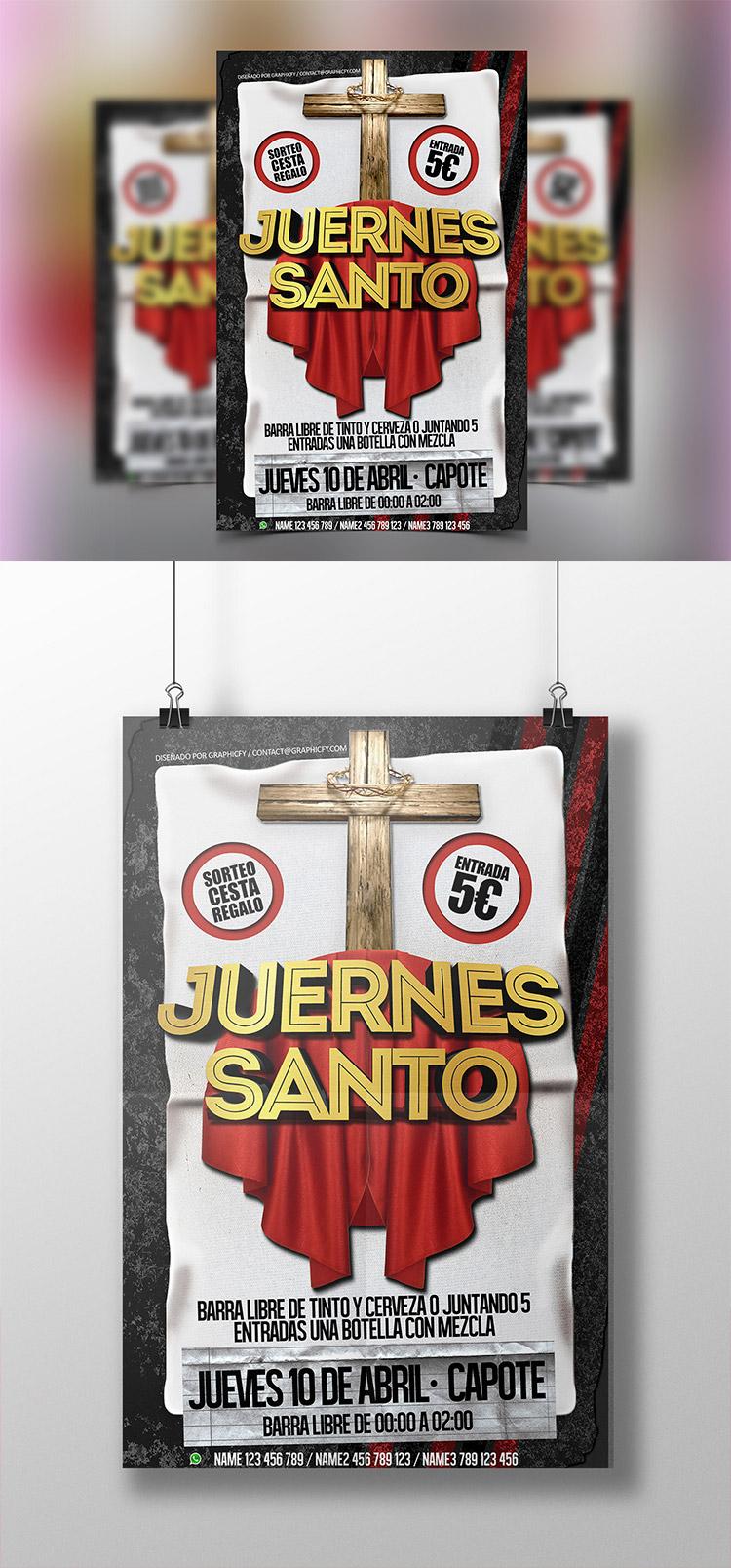 Church Flyer PSD Template