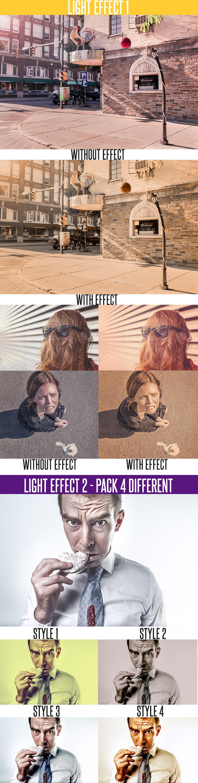 Light Effect Action Photoshop