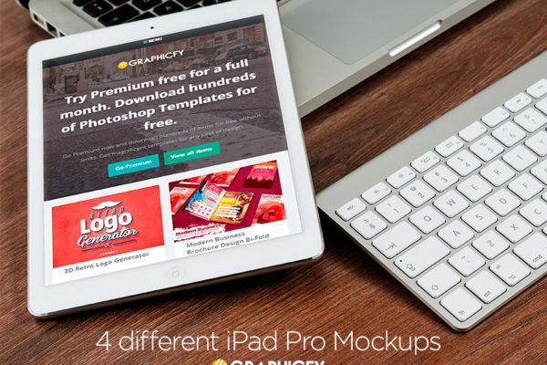 iPad Pro Mock up