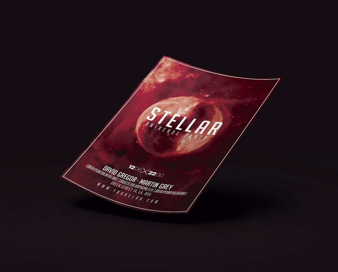 Space Flyer Template