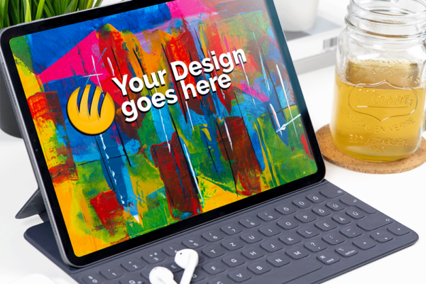 iPad Pro 2019 Mock-up Template