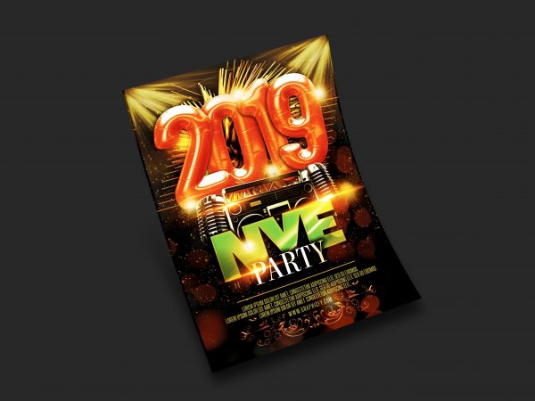 New Year's Eve Flyer 2019