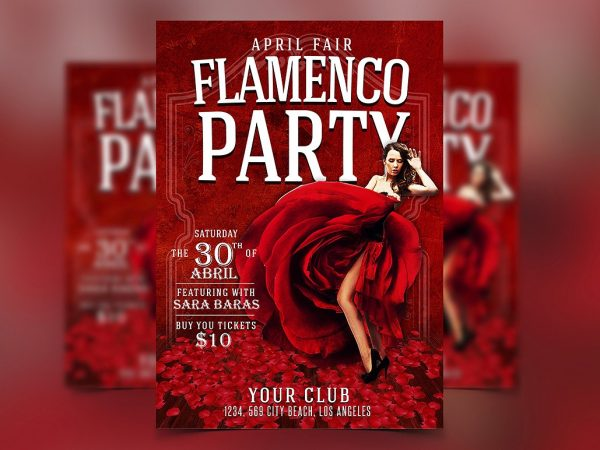 Flamenco Flyer Template
