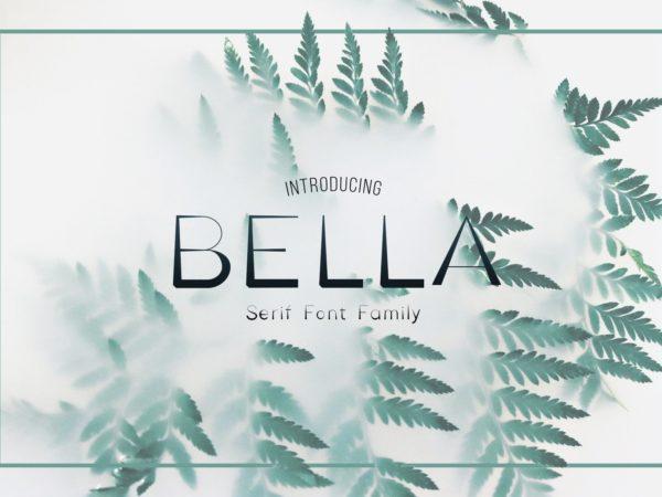 Bella Serif Font Family