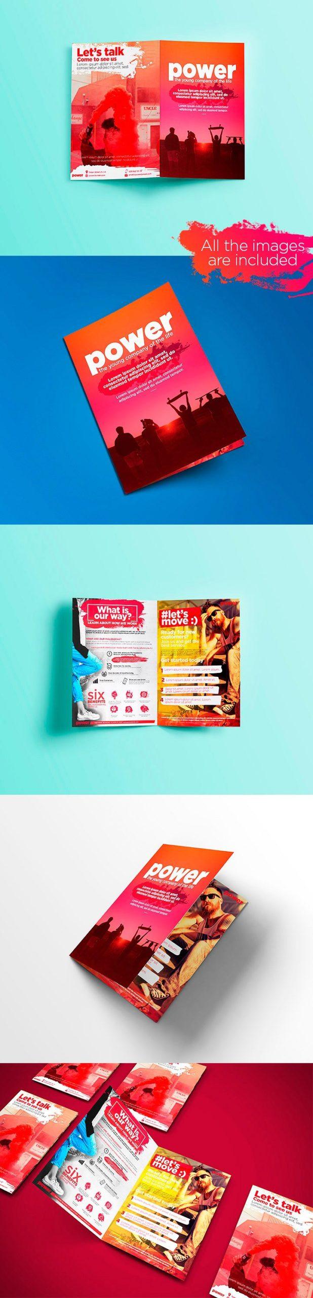 Modern Business Brochure Bi-Fold