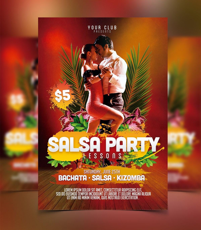 Salsa Flyer Template