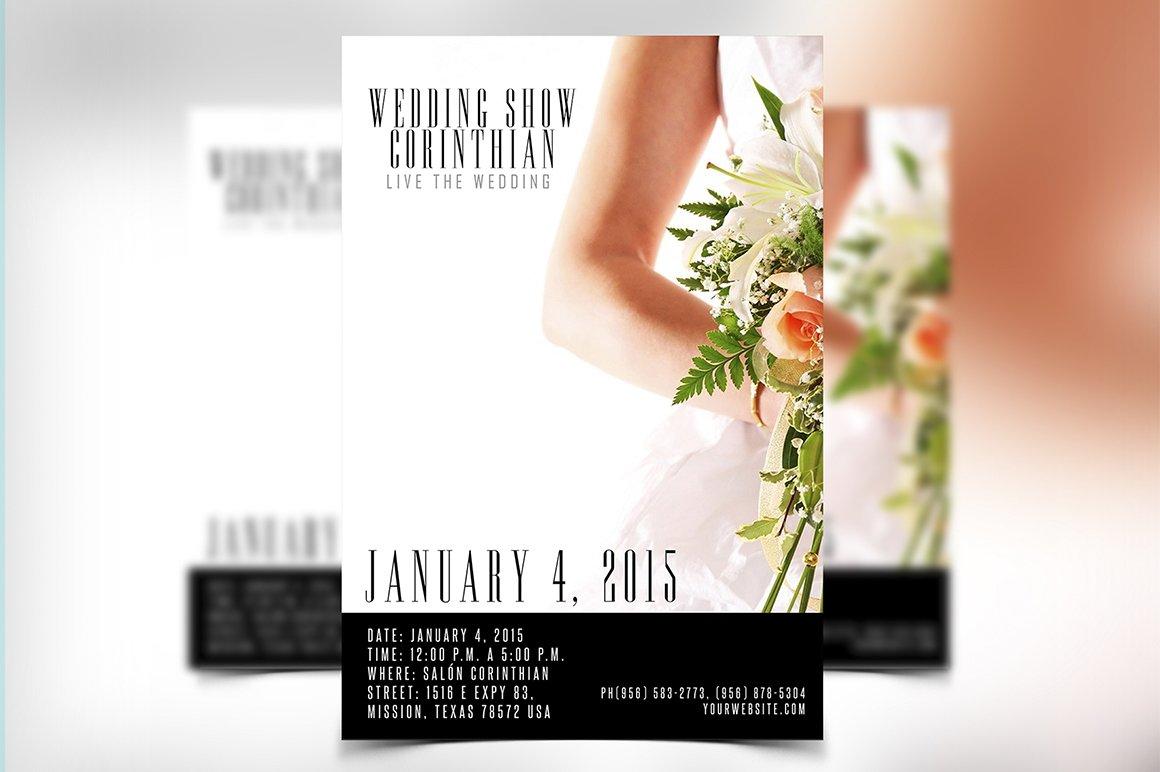 Wedding Flyer Template PSD
