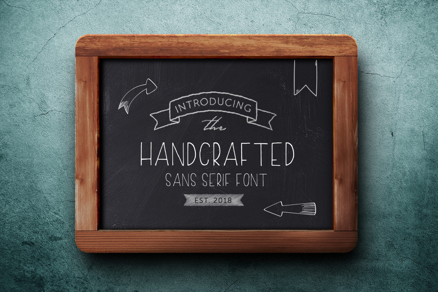 Handcrafted Sans Serif Font